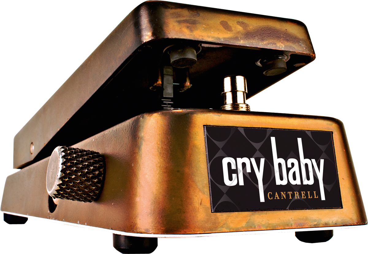 Rusty Wah Dunlop Cry Baby Jerry Cantrell Signature La