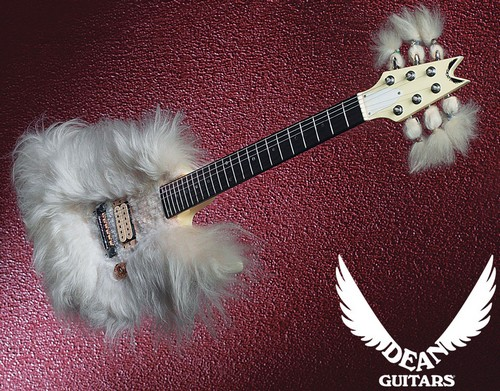 Fur guitar avec Shrimpfork headstock