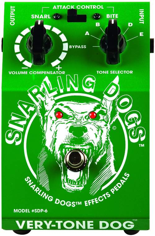 SNARLING DOGS Very-Tone Dog