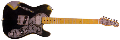 James Trussart Deluxe Steelcaster