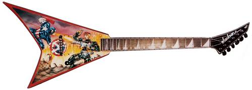Captain America Graphics Custom Shop Rhoads